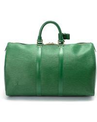 Louis Vuitton Epi Keepall 45 Travel Bag - Lyst