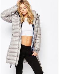 G-Star RAW Whistler Fitted Padded Coat - Grey
