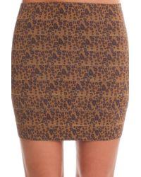 Pleasure Doing Business | Banded Mini Skirt | Lyst