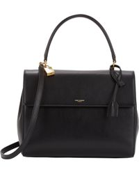 Saint Laurent - Moujik Box Satchel - Lyst