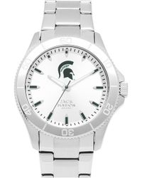 Jack Mason Brand - 'michigan State Spartans' Bracelet Watch - Lyst