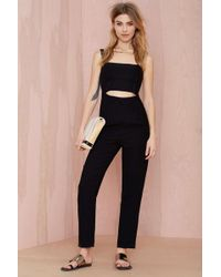 Nasty Gal After Dark Cutout Jumpsuit - Lyst