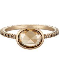 Anaconda - Mixed Diamond Ring - Lyst