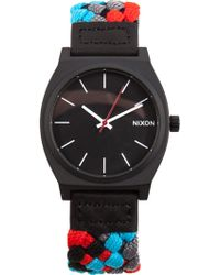 Nixon 'Time Teller' Watch - Lyst