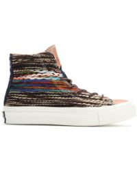 Converse Chuck Taylor All Star Knitted Platform High-top Sneakers - Lyst