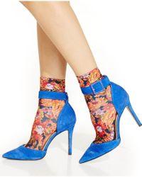 Jessica Simpson - Wild Flower Anklet - Lyst