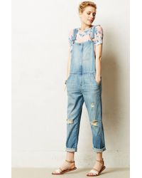 Current/Elliott Ranch Hand Overalls - Lyst