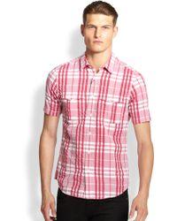 Burberry Brit Adken Large Check Sportshirt - Lyst