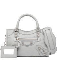 Balenciaga Giant 12 Silver Mini City - Lyst