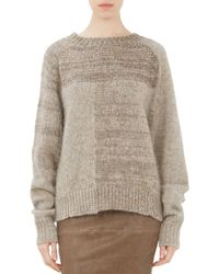 Isabel Marant Mohair Patchwork Naoko Sweater - Lyst
