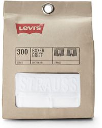 Levi's Two-pack 300 Series Logo Boxer Briefs - Lyst