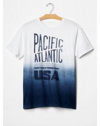 Gap Surfrider Foundation T-Shirt white - Lyst