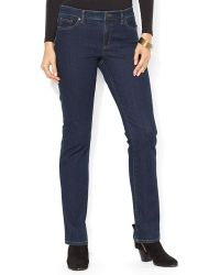 Ralph Lauren Lauren Slim Modern Curvy Jeans in Rinse - Lyst