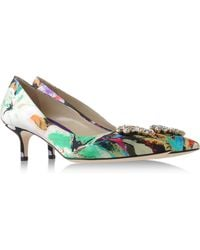 Brian Atwood Closed-Toe Slip-Ons - Lyst