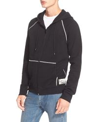 Marc Jacobs | French Terry Full Zip Hoodie | Lyst
