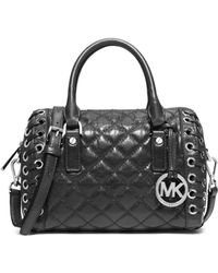Michael Kors Sophie Small Quilted-leather Satchel - Lyst
