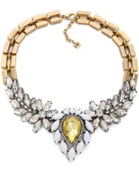Juicy Couture - Brillant Blooms Gemstone Drama Necklace - Lyst