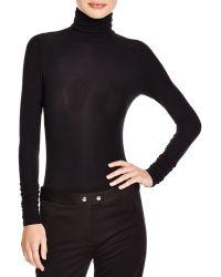 Theory Raheem Ponte Bodysuit - Black