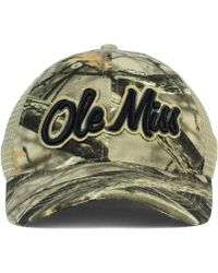 Legacy Athletic - Mississippi Rebels Lost Camo Script Trucker Cap - Lyst