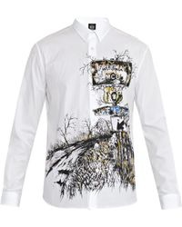 McQ by Alexander McQueen Freeway-Print Cotton Shirt - Lyst