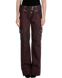 Miss Sixty Casual Trouser - Lyst