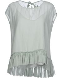Jucca Top green - Lyst