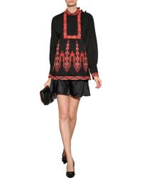 Anna Sui Embroidered Tunic - Lyst