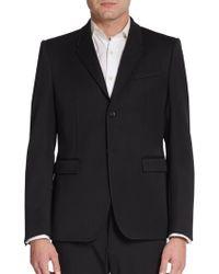 Burberry Prorsum Virgin Wool Sportcoat - Lyst