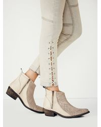 Free People Womens Flying Ranch Ankle Boot - Lyst