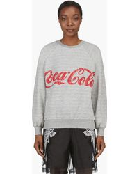 Ashish - Grey Coca_cola Edition Raglan Sweater - Lyst