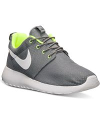 Nike Mens Roshe Run Casual Sneakers From Finish Line - Lyst