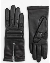 Rag & Bone Black Slope Glove - Lyst