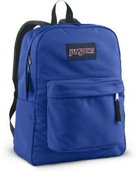 Jansport - Superbreak Backpack, Blue Streak - Lyst