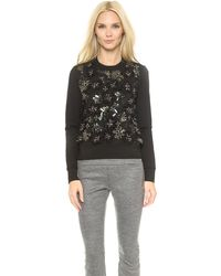 DSquared2 Knit Sweater  Black - Lyst