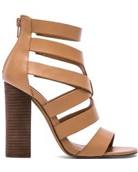 Steve Madden Brown Cruizz Heel - Lyst