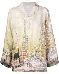 Dosa - 'watts Towers' Pyjama Shirt - Lyst
