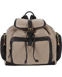 Pierre Hardy - Shearling Av01 Backpack-multi - Lyst