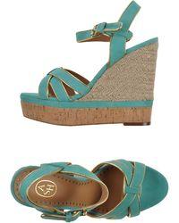Ash Blue Sandals - Lyst