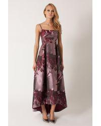 Black Halo | purple Adashi Gown | Lyst