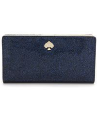 Kate Spade Stacy Wallet - Night Sky Glitter - Lyst