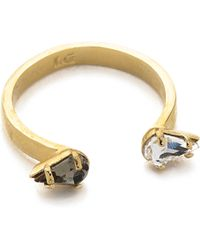 Lady Grey | Reflective Ring - Gold Multi | Lyst