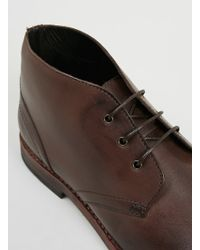 Hudson Houghton 2 Brown Leather Chukka Boots - Lyst