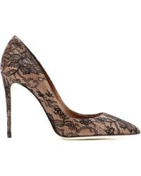 Dolce & Gabbana Kate Lace-Coated Pumps - Lyst