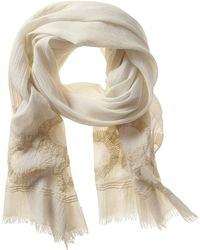 Banana Republic Heritage Embroidered Scarf Cocoon - Lyst