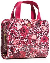Tory Burch Bifold Hanging Traveller - Red