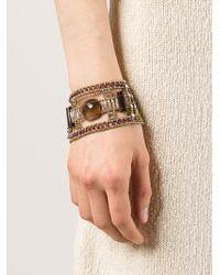Ziio - Murano Glass Beaded Bracelet - Lyst