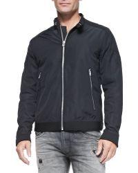 Diesel Heavy Tech-Fabric Jacket - Lyst