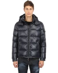 Moncler Maya Shiny Nylon Down Jacket - Lyst