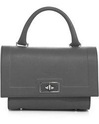 Givenchy | Shark Mini Leather Satchel | Lyst