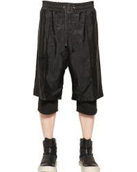 D.gnak Layered Camo Printed Nylon Shorts - Lyst